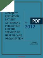 Patient Attendant Perception