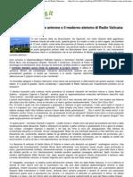 2012 - Giugno 13 - VignaClaraBlog.it - Comitati Roma Nord, Le Antenne e Il Moderno Ateismo Di Radio Vaticana