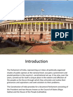Sixty Years of Indian Parliament