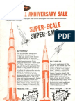 Centuri Model Rocket Catalog March 1979
