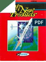 Estes New Products 1987