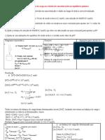 Aplicação de Balanço de Carga em curvas de titulação