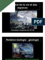 L'origine de la vie et des espèces