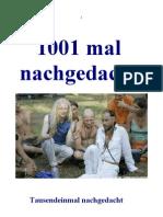 1001 mal nachgedacht Band 2 Von 4
