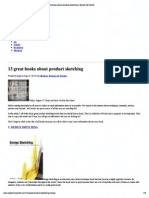 Print - 13 Great Books About Product Sketching _ Sketch My World