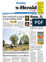 New Herald Front Page 7-15