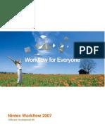 Nintex Workflow 2007 SDK 1.2