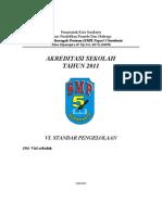 Akreditasi Sekolah - Standar Pengelolaan (SMP)
