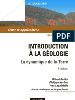 Introduction a La Geologie