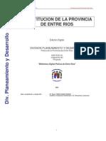 constitucion provincia de entrerios