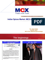 Mcx Spices Ppt