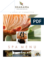 A Shakama Spa Brochure