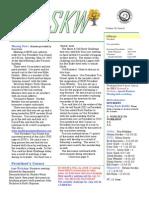 South Kansas Woodturners News - June 2012