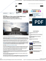 Republicans' Discontent With High Court Drives Down Its Poll Nu