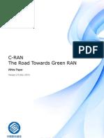China Mobile CRAN White Paper