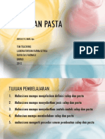 Salep Dan Pasta