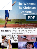 The Witness the Christian Athlete - Ikang