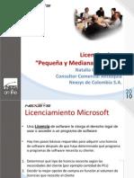 Licenciamiento Básico Microsoft