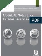 8_Notas a Los Estados Financieros