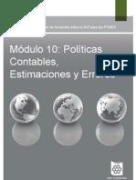 10_Politicas Contables, Estimaciones y Errores