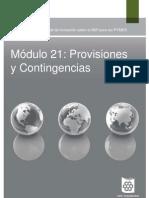 21_Provisiones y Contingencias