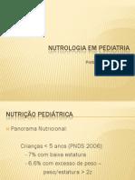 Nutrologia Em Pediatria 3o Ano