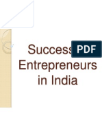 Successful Entrepreneurship