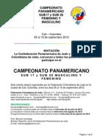 Campeonato Panamericano Sub 17 y 20 Colombia 2012 PDF