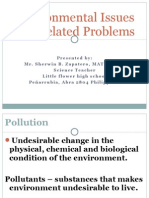 Environmental Issues and Related Problems