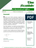 Zambia - Statistics - March 2012