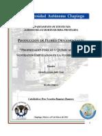 PROPIEDADES FÍSICAS Y QUÍMICAS DE LOS SUSTRATOS EMPLEADOS EN LA FLORICULTURA