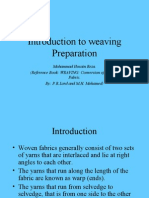 Yarn Preparation