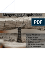 Presentation - Merger and Acquisitions