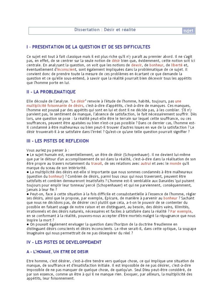 Correction Philo S Dissertation 1 | Bonheur et efforts ...
