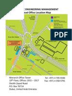 Location Map of Plantec Engineering Management
