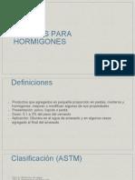 6.-  ADITIVOS