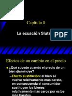 Ecuación de Slutsky