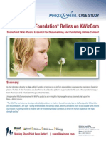 KWizCom List in Sharepoint Make a Wish Foundation Case Study