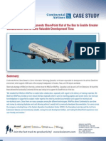 KWizCom List in Sharepoint Continental-Airlines-Case-study