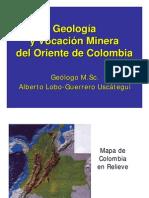 Geologia y Vocacion Minera Oriente Colombiano Presentacion