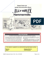1183-1 Hammermills Parts and Instruction