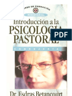 Esdras Beíancourt. INTRODUCCIÓN A LA  PSICOLOGÍA PASTORAL. texto modificable