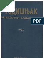 Godišnjak Jugoslovenskog vazduhoplovstva 1936