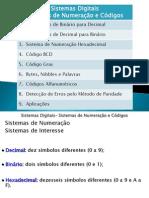 SD_1 - Sistemas de Numeração e Códigos