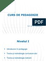 Pedagogie 1 Curs 3 Educabilitatea