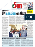 TheSun 2009-01-09 Page01 UN Session on Gaza