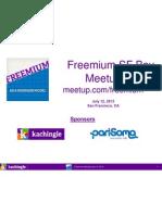 07.12.12 Cynthia Typaldos, Freemium Meetup Moderator Slides