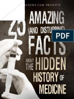 25 Amazing and Disturbing Facts About the Hidden History of Medicine