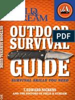 Field & Stream Outdoor Survival Guide