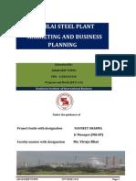 Bhilai Steel Plant Pre Final Project